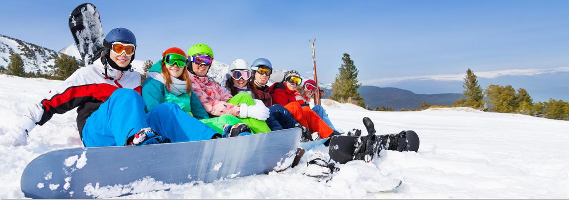 Snowboard Kursklassen