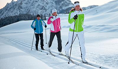 Langlauf-Kurse in Bayern – Klassik & Skating